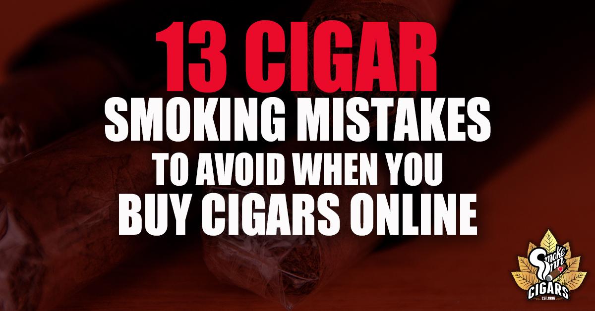 13 Cigar Smoking Mistakes