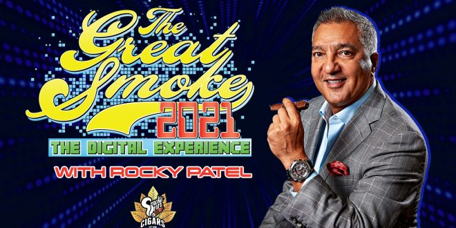Cigar Talk interview with Rocky Patel Cigars and Smoke Inn Cigars.