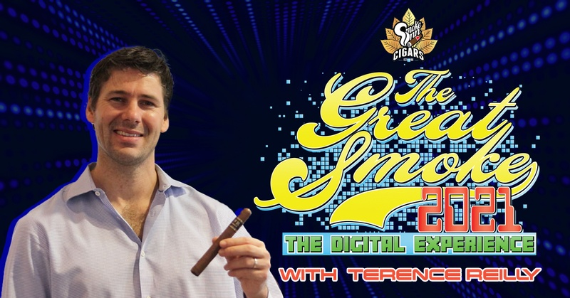 Terence Reilly's Cigar Talk interview about Aganorsa Leaf Cigars at The Great Smoke 2021.