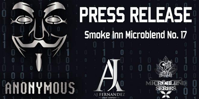 MicroBlend Series - Anonymous by AJ Fernandez | Press Release