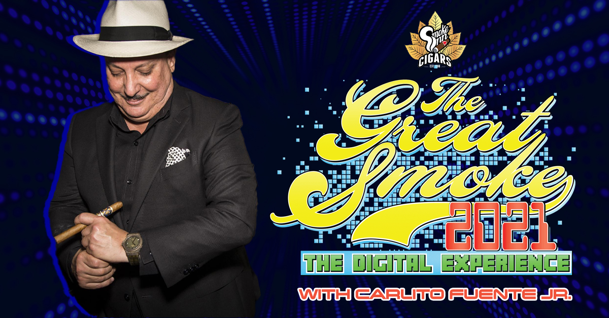 Cigar Talk interview with Carlito Fuente Jr. of Arturo Fuente Cigars at Smoke