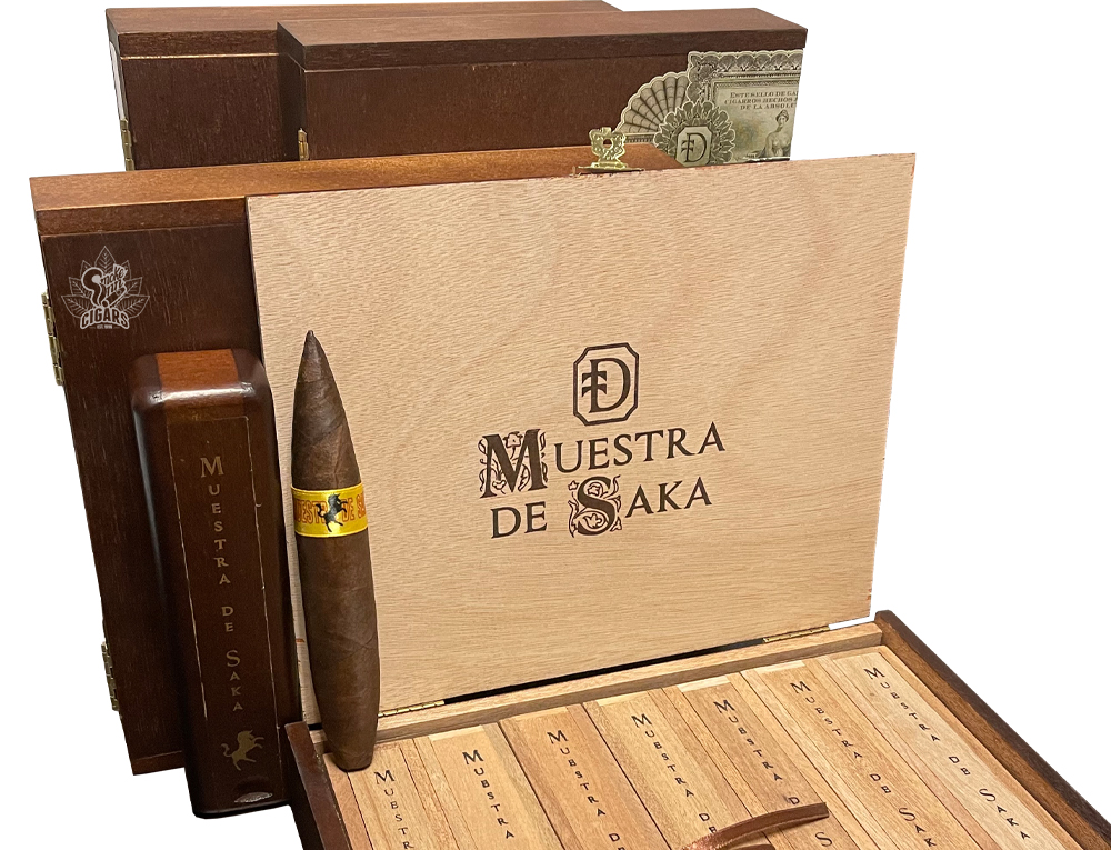 Muestra de Saka by Dunbarton Tobacco & Trust