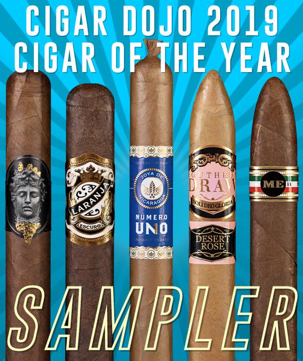Cigar Dojo 2019 Top Cigars of the Year Sampler