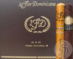 La Flor Dominicana Oro Tubo