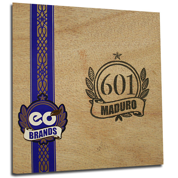 Buy 601 Serie Blue Maduro Box Pressed Toro 5 Pack On Sale Online