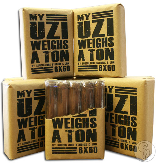 Buy My Uzi Weighs a Ton Robusto - 5 Pack On Sale Online