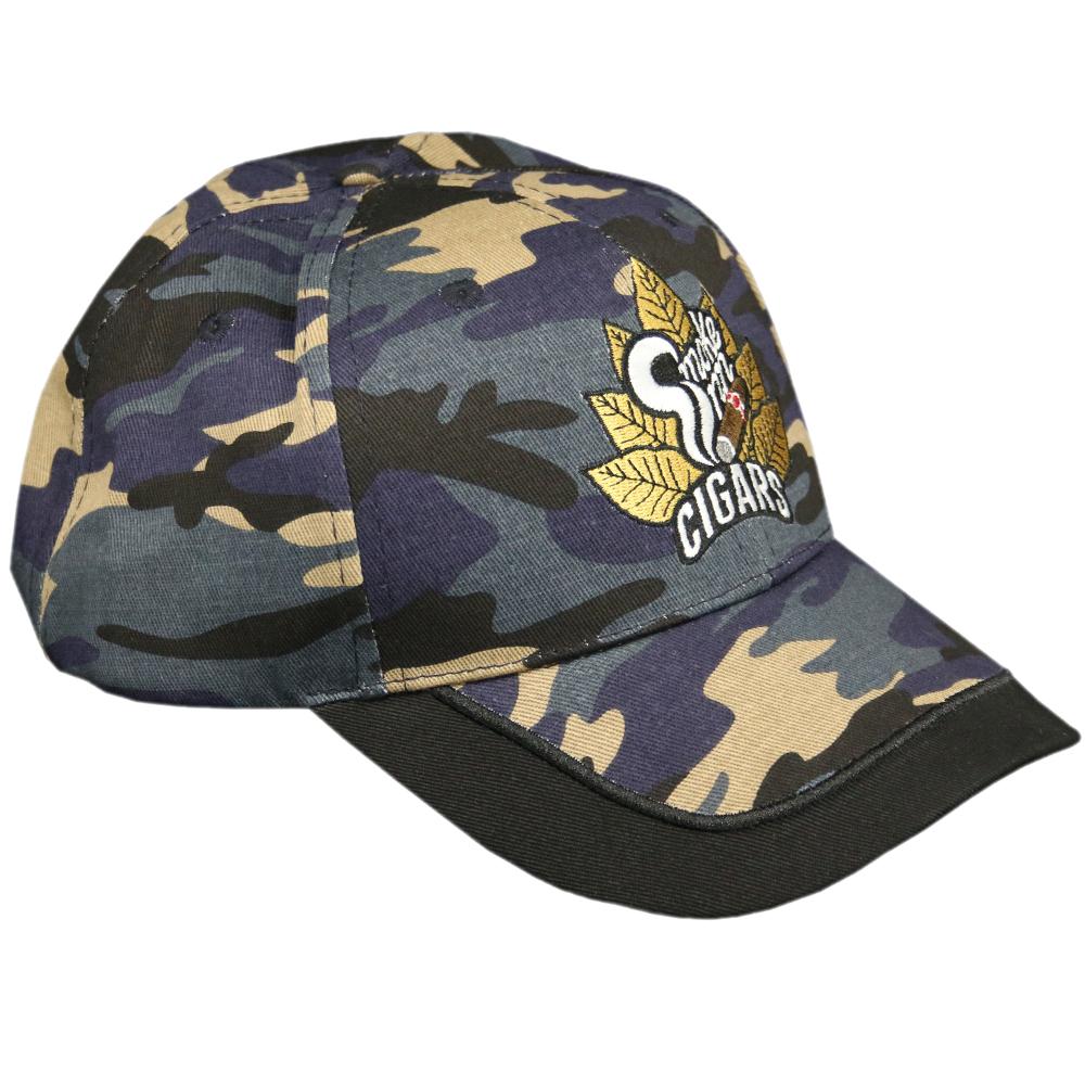 SI Blue Camo Logo Hat