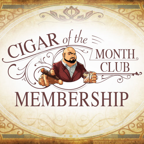 Cigar of the Month Club - Monthly Subscription