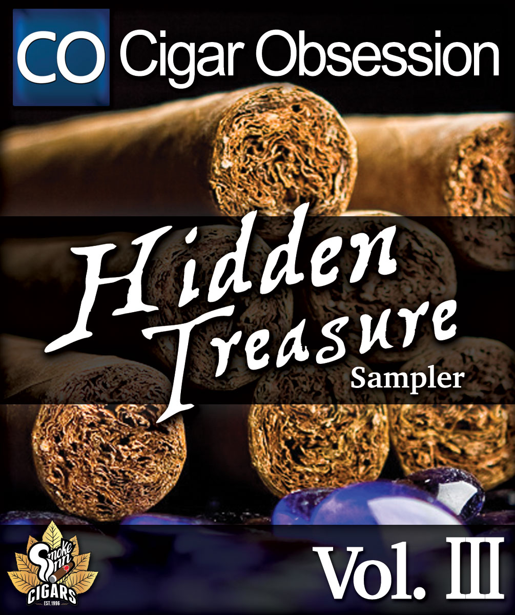 Cigar Obsession Hidden Treasure Sampler Vol. III