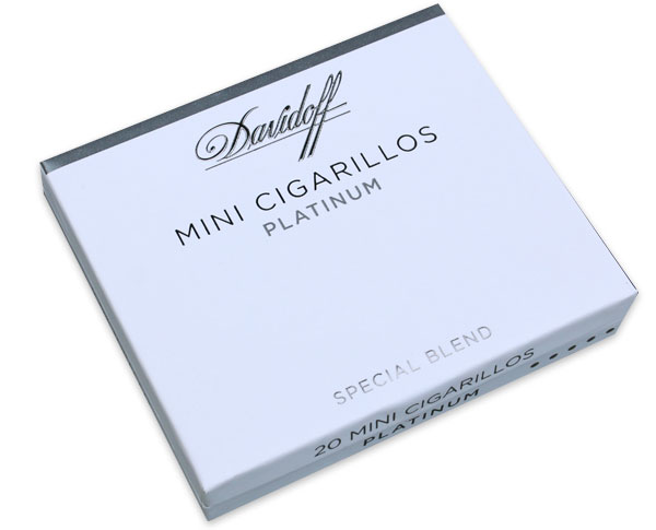 Davidoff Platinum Cigarillos - 5 Packs of 20