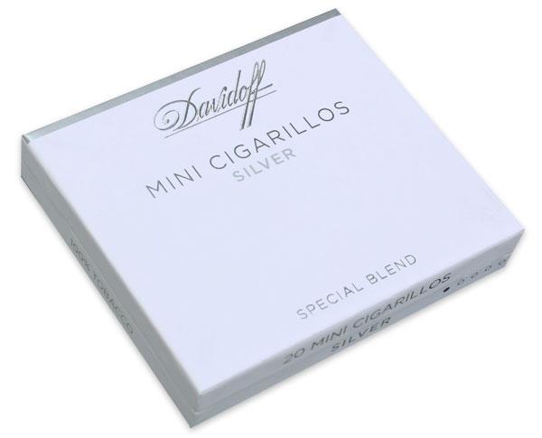 Davidoff Silver Cigarillos - 5 Packs of 20