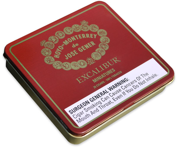 Hoyo Excalibur Mini Tin - 5 Tins of 20