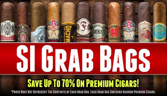 60ct Cigar Grab Bag with TGS Cooler Bag