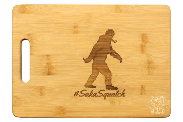 Sakasquatch Cutting Board