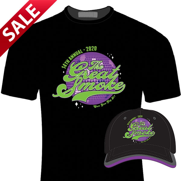 The Great Smoke 2020 Official Hat and Shirt