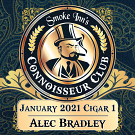 January 2021 Cigar #1 - Alec Bradley