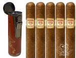 Herrera Esteli 5 Cigar Gift Set With Branded Lighter