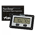 Xikar Adjustable Rectangle Digital Hygrometer