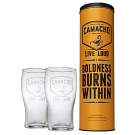 Camacho Branded Pint Glass Set