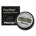 Xikar Adjustable Round Digital Hygrometer