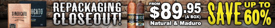 Sindicato Repackaging Closeout