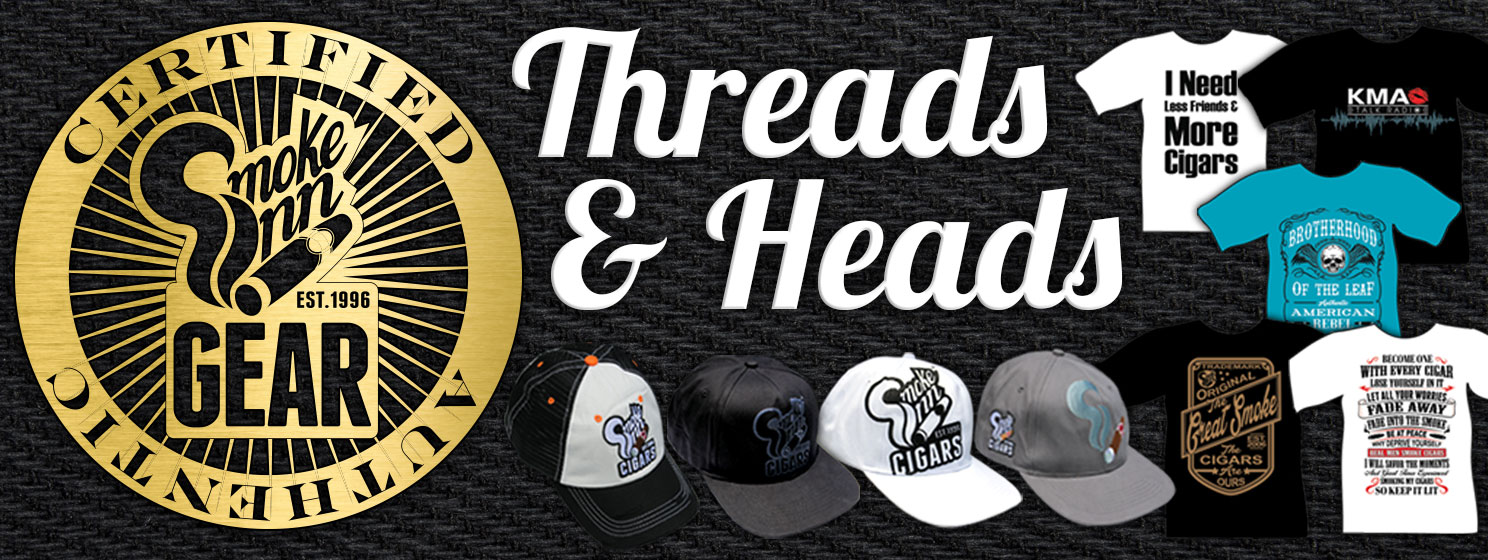 Smoke Inn's Threads -n- Heads